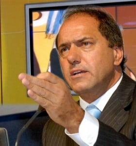 """Scioli pide """"desdramatizar"""" 8N y 7D"""