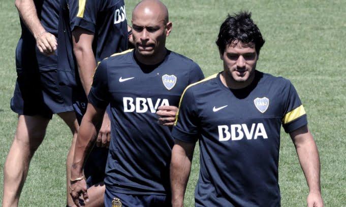 Boca recuperó a los lesionados Burdisso, Rodríguez y Rivero
