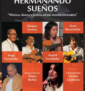 """""""Hermanando sueños"""" en el Teatro Municipal"""