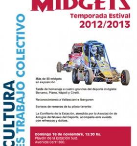 Presentación de la Temporada Estival de Midgets 2012/13