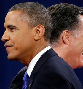 En el último fin de semana de la campaña electoral de Obama y Romney sin ventajas