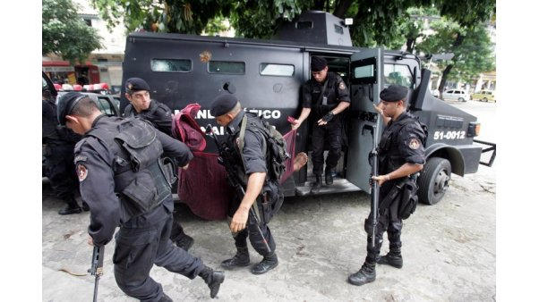 Más de 50 muertos en Brasil por ataques narcos