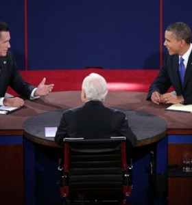 """Con el """"Sandy"""" de trasfondo, Obama y Romney prosiguen con sus campañas"""