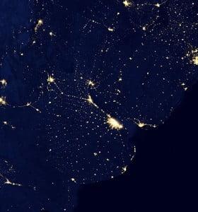 Google y la NASA muestran cómo es el mundo durante la noche