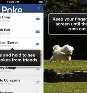 Facebook lanzó Poke, su nueva app