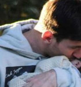 Messi llegó al país para pasar las Fiestas con su hijo Thiago