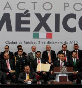 Histórico pacto en México entre todos los partidos políticos