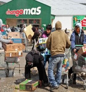 Bariloche: pagan $30 mil a las víctimas de los saqueos organizados