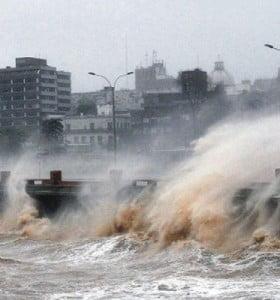 Fuerte temporal en Uruguay dejó tres víctimas fatales