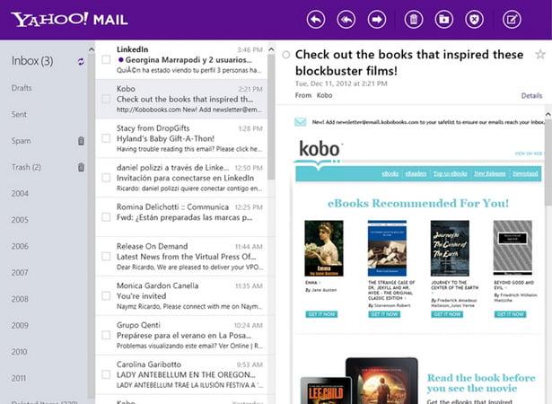 Yahoo! renueva su correo para mantenerse relevante