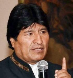 Evo dijo que el estado de salud de Chávez es muy preocupante