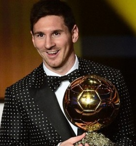 Messi es el máximo ganador histórico del Balón de Oro de la FIFA
