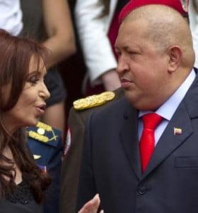 Cristina visitaría a Chávez en Cuba