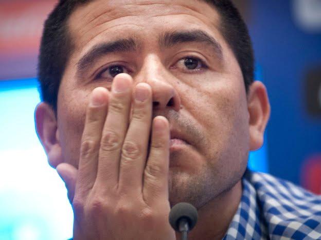 """""""A Boca no vuelvo"""", dijo Riquelme tras reunirse con Angelici y Bianchi"""