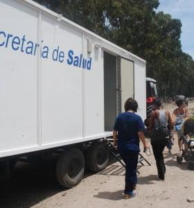 La municipalidad brindó asistencia en salud a ocupas del Plan Federal de Viviendas