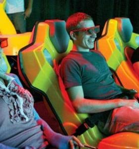 Abren en Chile la primera sala de cine 6D en Sudamérica