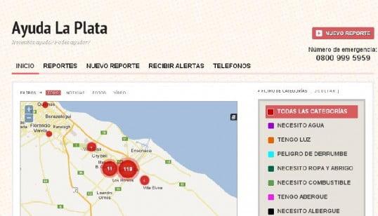 Lanzan Una Web De Ayuda Para Los Damnificados