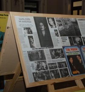 Muestra homenaje a Eva Duarte de Perón