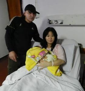 La beba número 82 de la ley provincial de fertilización asistida es marplatense
