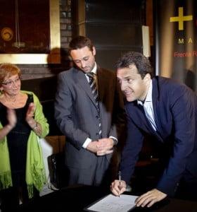"""Una ONG desmintió el """"compromiso"""" de Massa"""