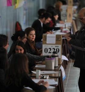 La participación electoral superó el 70 por ciento del padrón