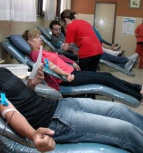"""""""Doná sangre en tu barrio"""": campaña en Vista Alegre"""