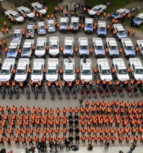 Suman 25 mil policías bonaerenses para custodiar los comicios