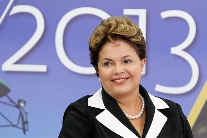 El 56 por ciento de los brasileños respalda a Rousseff