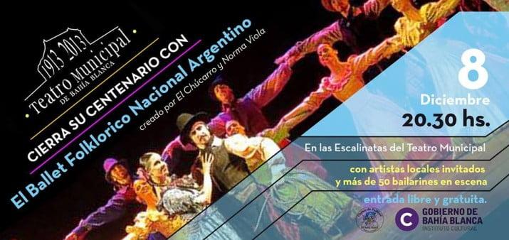 El Ballet Folklórico Nacional cierra el centenario del Teatro Municipal