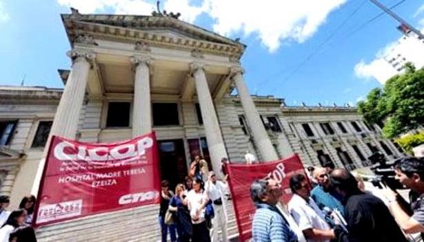 """Las paritarias de """"Salud en el presupuesto 2014 son las más bajas del país"""""""