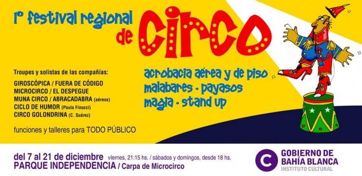 Comienza el primer festival regional de circo