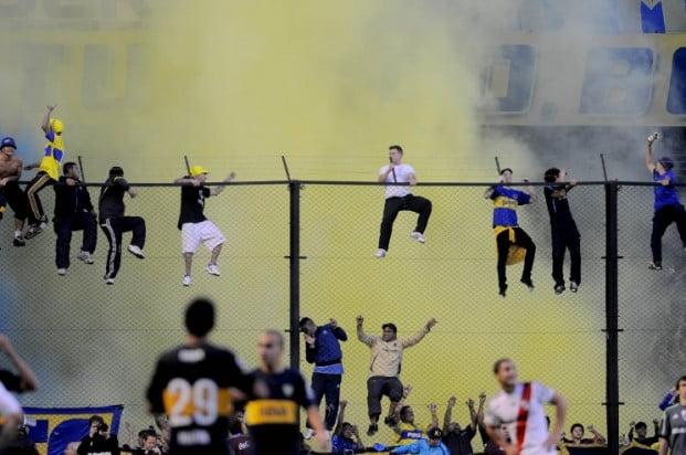 Abren un sumario a Boca por el ingreso de pirotecnia al estadio