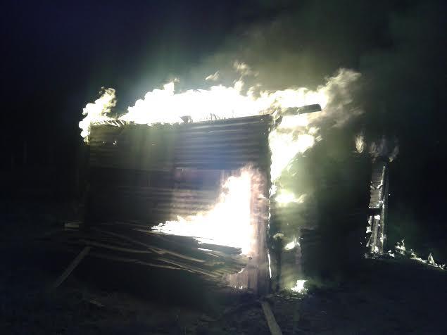 Se incendió una vivienda precaria