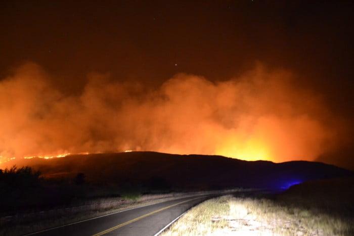 Incendio en Sierra: Se quemaron más de 25.000 hectáreas