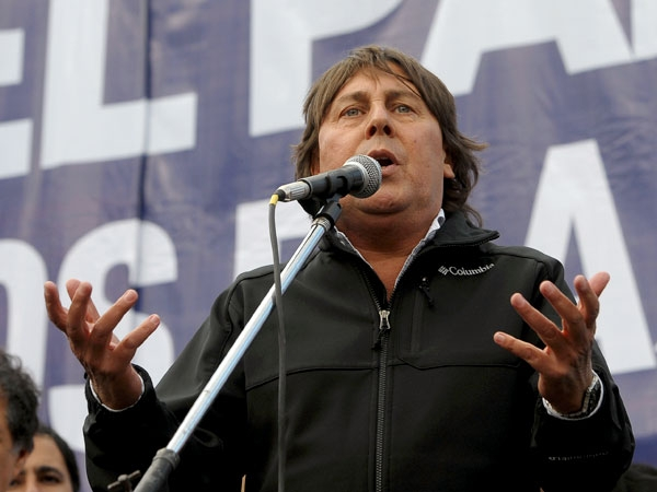 La CTA de Micheli se moviliza al Congreso y Plaza de Mayo