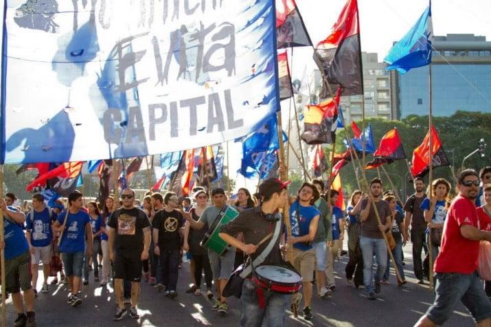 El Movimiento Evita planta partido
