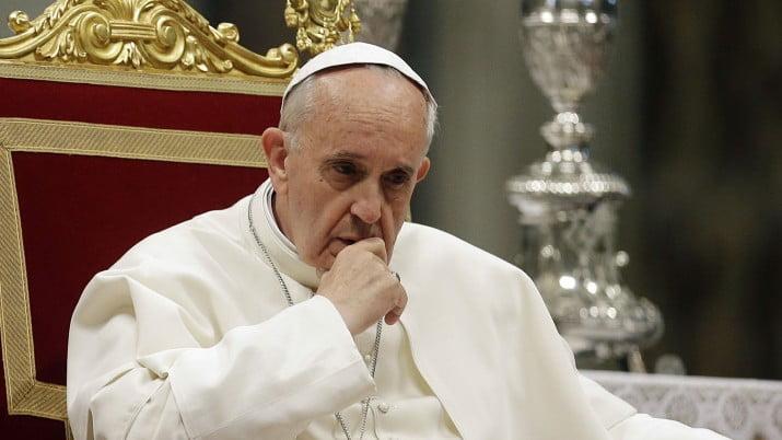 """Francisco: """"La trata de personas es un crimen contra la humanidad"""""""