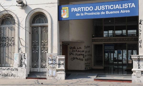 El Partido Justicialista bonaerense realizará su primer congreso