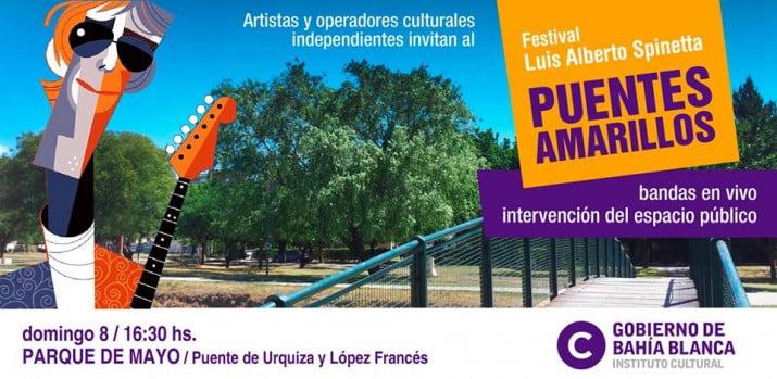 """""""Puentes amarillos"""": homenaje a Luis Alberto Spinetta"""