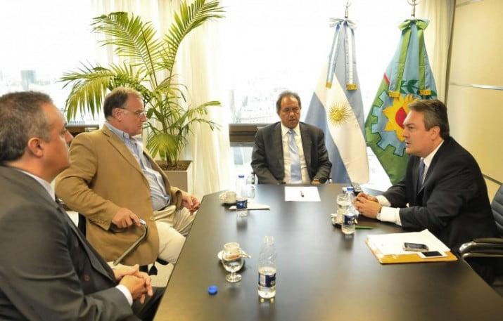Scioli puso en funciones al nuevo titular del Consorcio del Puerto de Quequén
