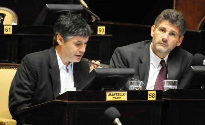 Martello y Negrelli llegan a la Defensoría del Pueblo