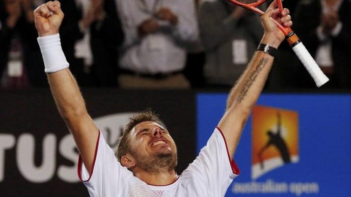 Wawrinka dio la sorpresa y eliminó a Djokovic en Australia
