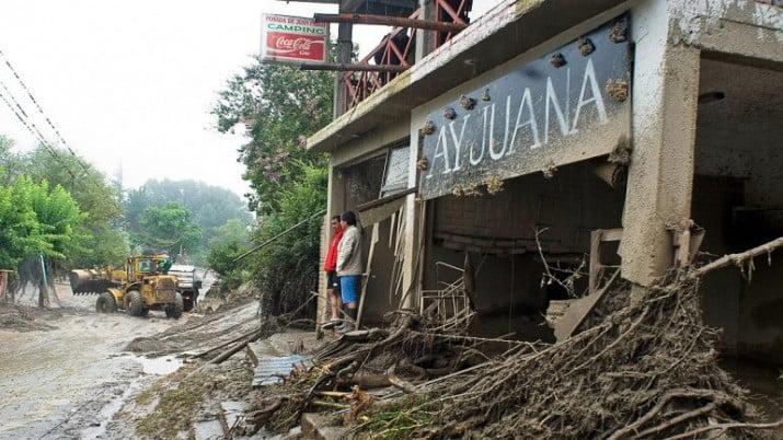 Suman 12 los muertos y 25 los desaparecidos en Catamarca