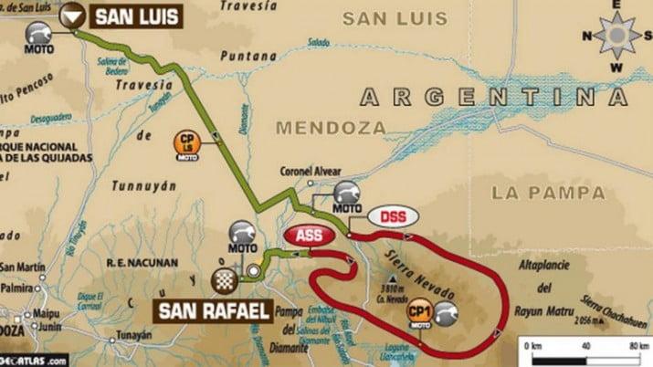 Dakar, día 2: las dunas toman la escena entre San Luis y Mendoza