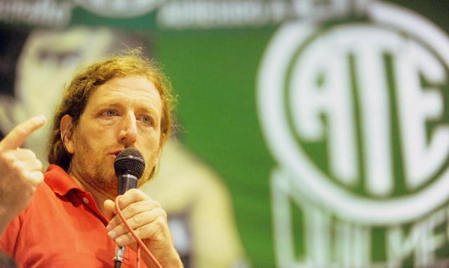 """ATE: el conflicto policial """"adelantó la discusión salarial"""" y """"demostró que dinero hay"""""""