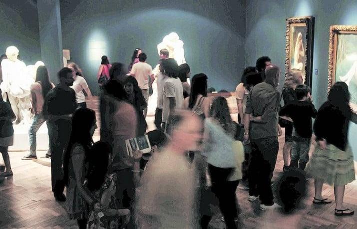 Los museos nacionales recibieron más de 1.850.000 visitas en 2013
