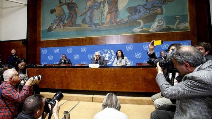 Terminó la primera reunión entre el gobierno y la oposición Siria