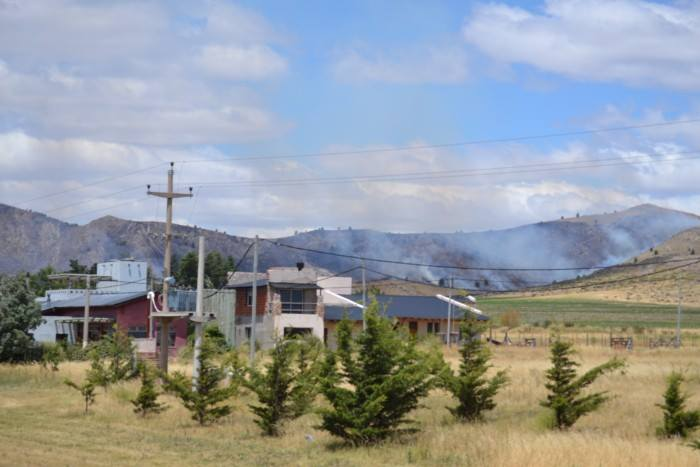 Incendio en Sierra: San Andrés a salvo por ex bombero