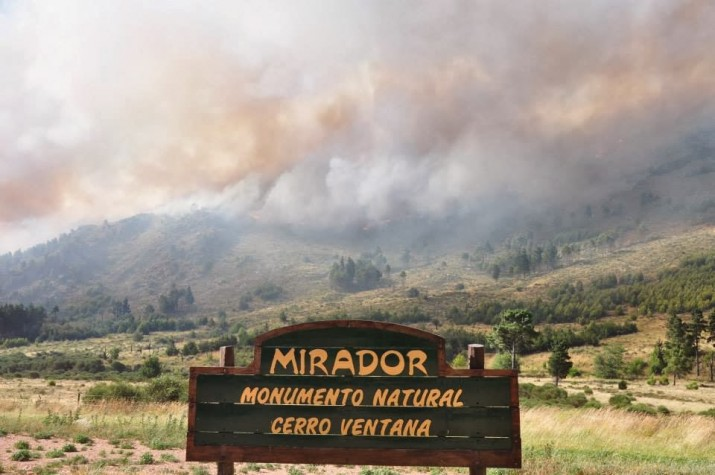 """Incendios: Piden declarar """"zona de desastre y en estado de emergencia"""""""