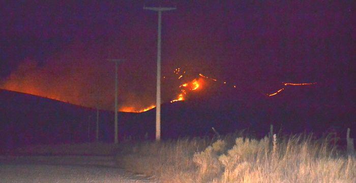 Incendio en Sierra: Aún hay seis focos y ascienden a 35 mil las hectáreas afectadas